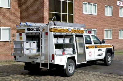 KNPC EMERGENCY RESCUE VEHICLE