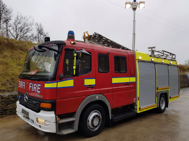For Sale Mercedes Atego Fire Engine