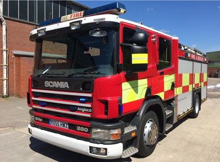 For Sale Scania Fire engine (B-Type)