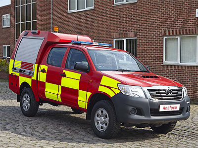 angloco limited fire fighting and rescue vehicles and equipment design  manufacture and Monitor 441 Hooked U Monitor 441 Repair Manual