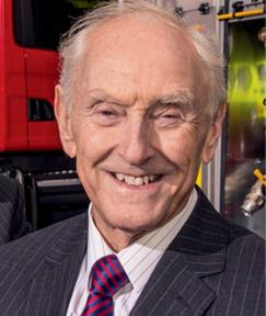 Bill Brown Managing Director of Angloco Ltd, Fire Engine and Firefighting Equipment manufacturer and distriutor