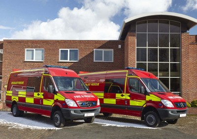 ESSEX FIRE AND RESCURE SERVICE SPECIALIST RESCUE UNITS