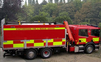 STAFFORDSHIRE FIRE AND RESCUE SERVICE DRIVER TRAINING UNIT
