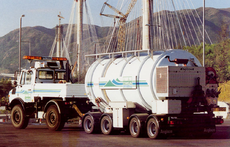 Angloco 15000 Special Purpose Trailer Tanker