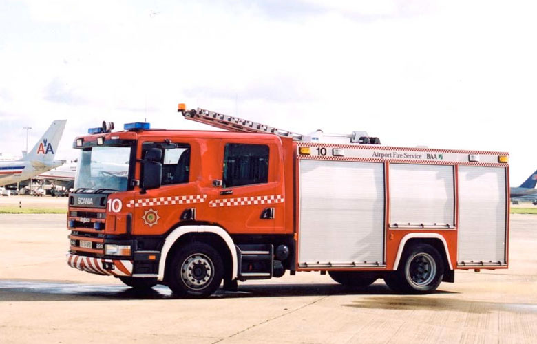 Scania Water Tender - 1800