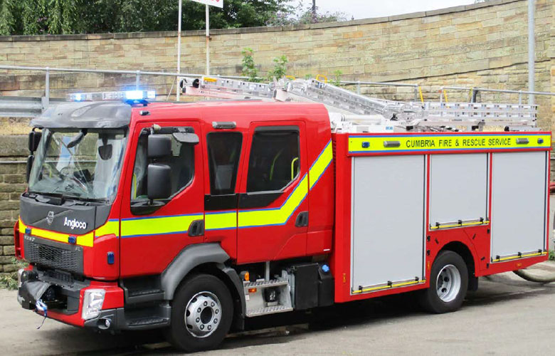 Volvo Water Tender/Pumping Appliance