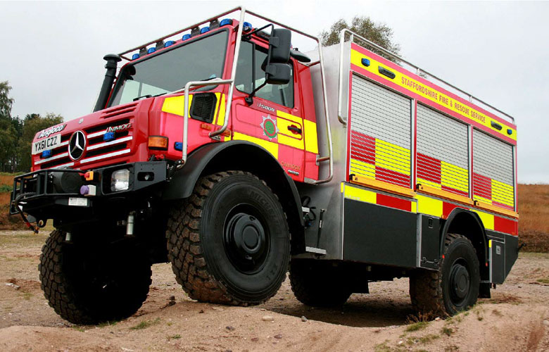 Heathland Firefighting/Rescue Appliance - 2100