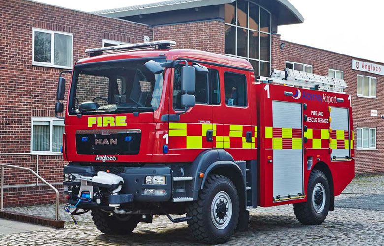 Airport Rescue and Firefighting Vehicle - 2800