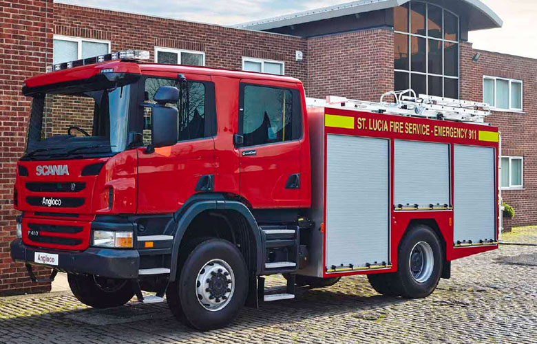 Scania Water/Foam Tender - 3100
