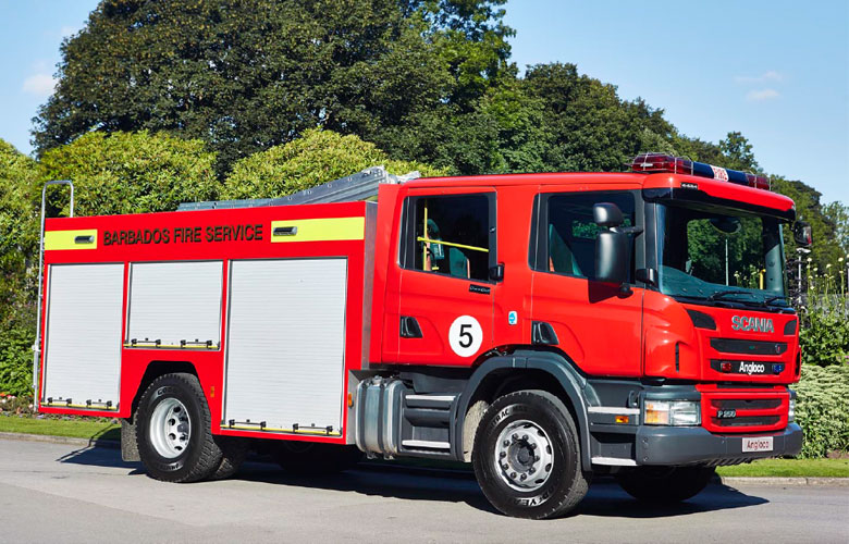 Scania Water/Foam Tender - 3200