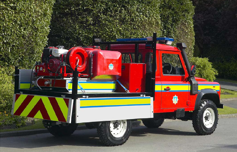 Moorland Fire Response Vehicle - 450