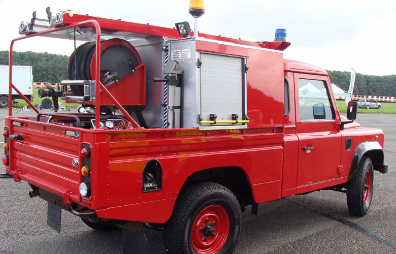 First Response Fire Fighting Vehicle - 700