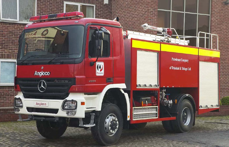 Multi-Media Fire Fighting Vehicle - 7100