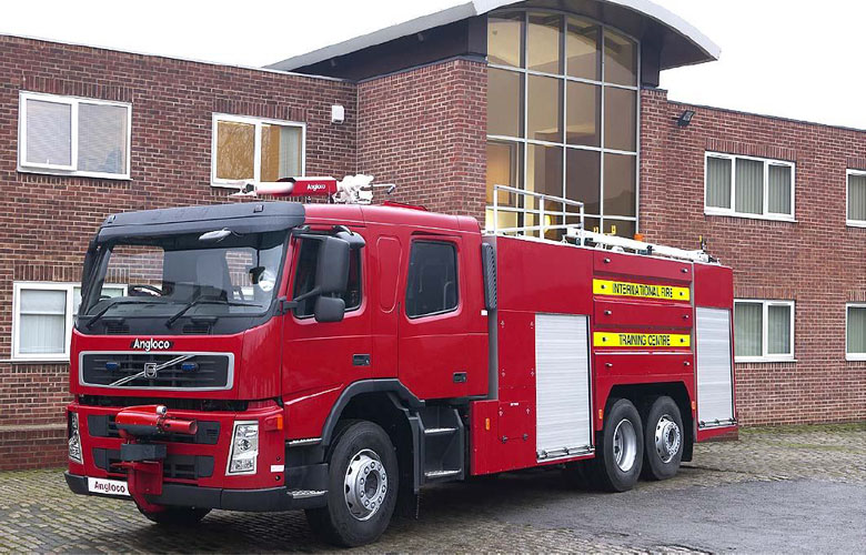 Aviation Firefighting Training Vehicle - 7500