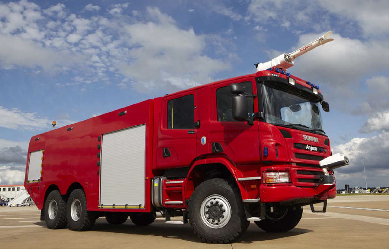 Airport Rescue and Fire Fighting Vehicle - 9000
