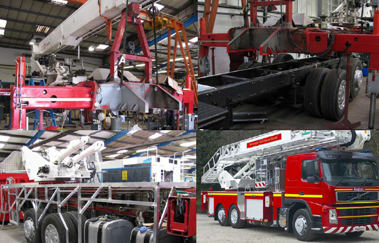 Bronto Aerial Ladder Platforms Refurbishment