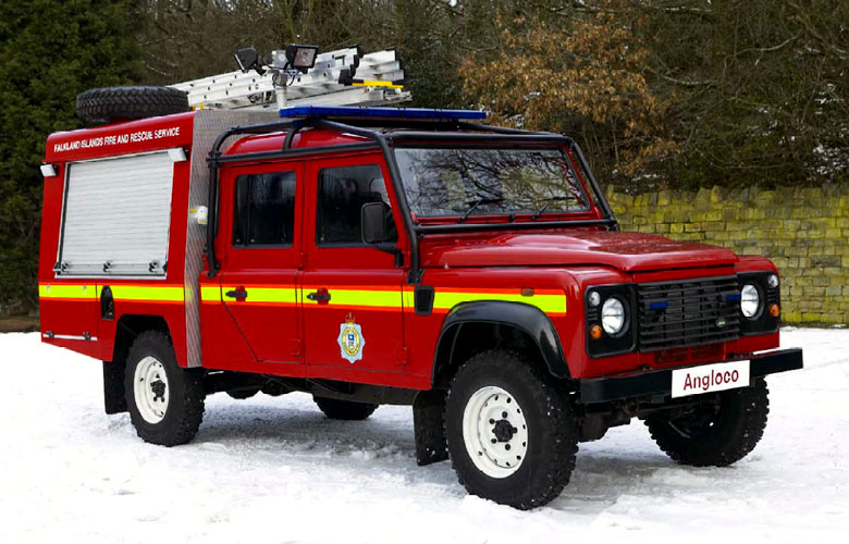Incident Response Unit - Land Rover