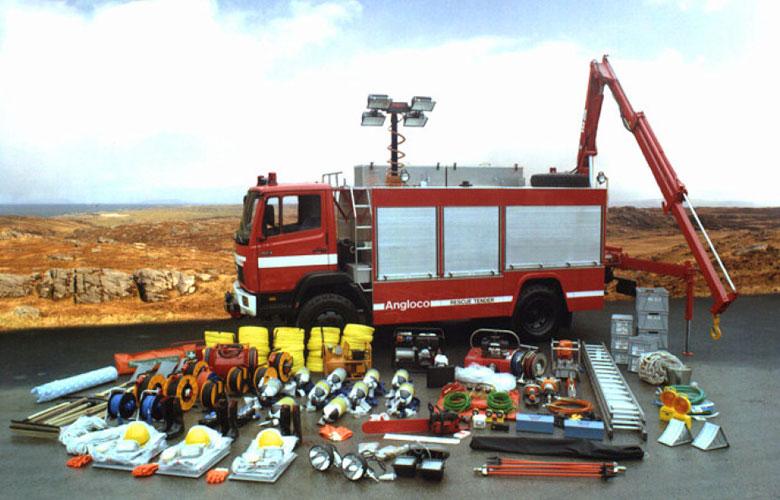 Major Emergency Rescue Tender