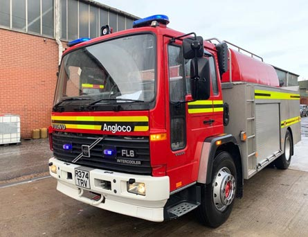 For Sale Angloco Volvo FL6B 1998