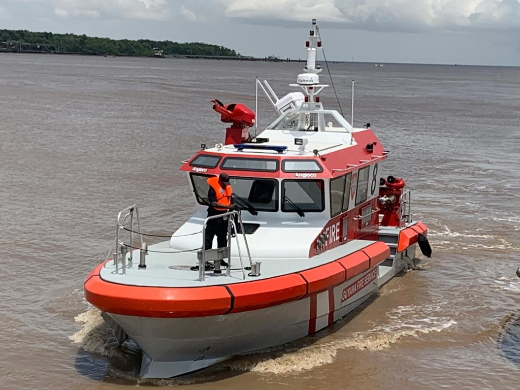 14m Fire Fighting & Rescue Boat