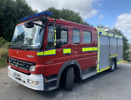 For Sale Angloco Mercedes Fire Engine