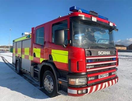 For Sale Scania Fire engine (B-Type) 2002