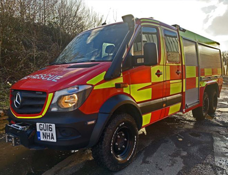 For Sale Rescue and Firefighting Vehicle – 1400