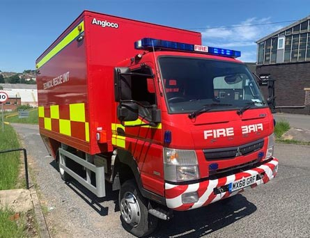 For Sale - Angloco Technical Rescue Unit